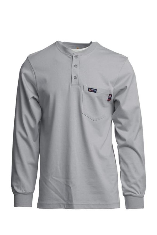 71e2015f Lapco FRT-HJE Flame Resistant Henley Tee   Gulotta's Western Wear