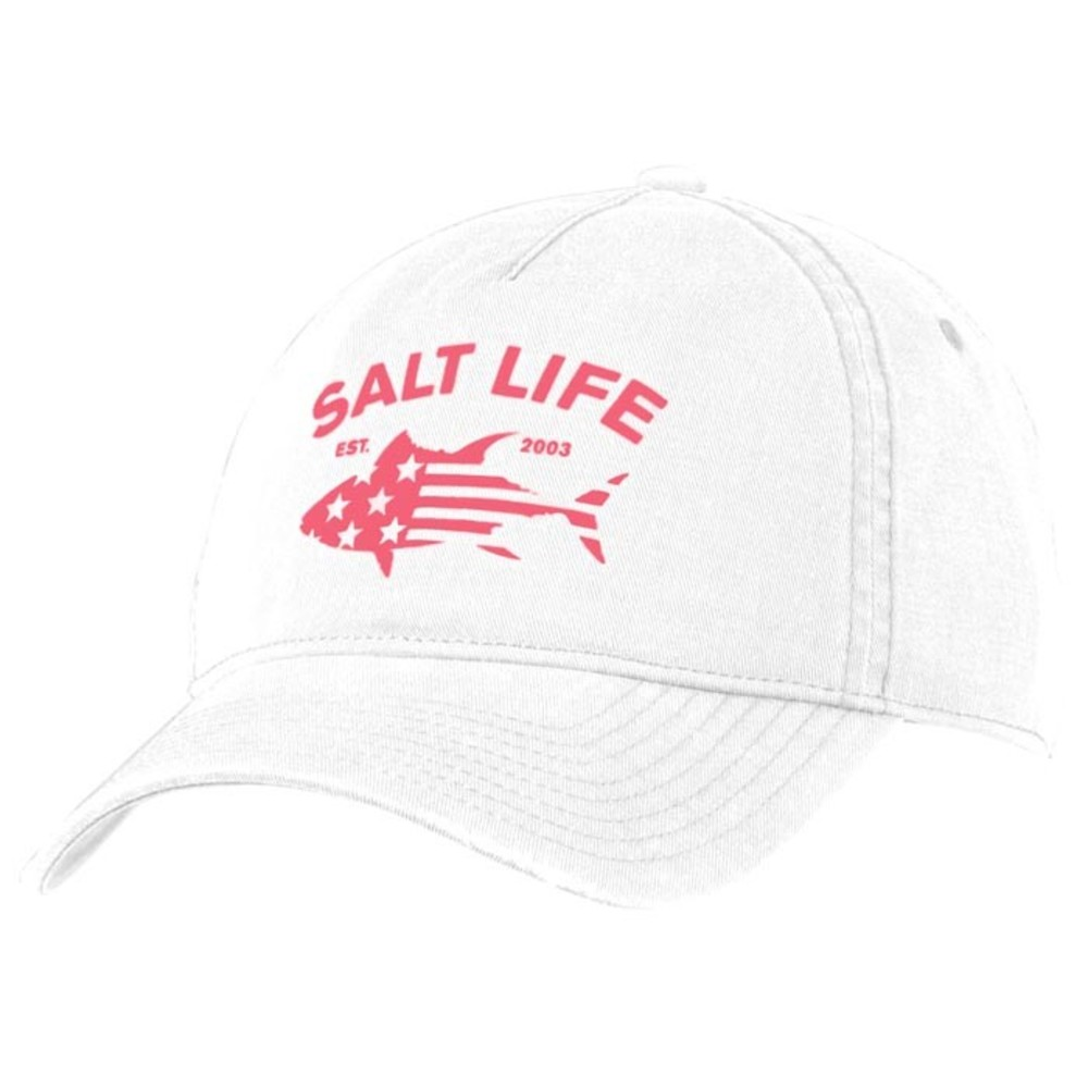 cb4d02e2097 Salt Life Red White And Bluefin Ladies Hat  SLG271
