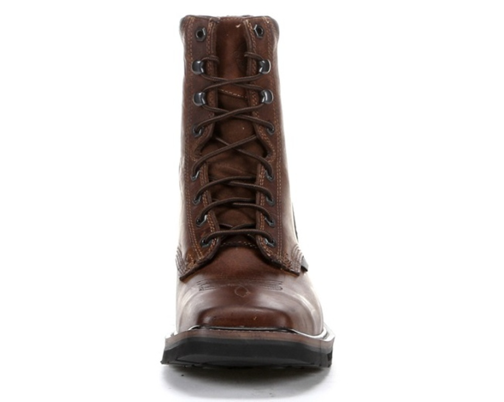 Justin Wk682 Rugged Tan Stampede Square Steel Toe Eh Boot