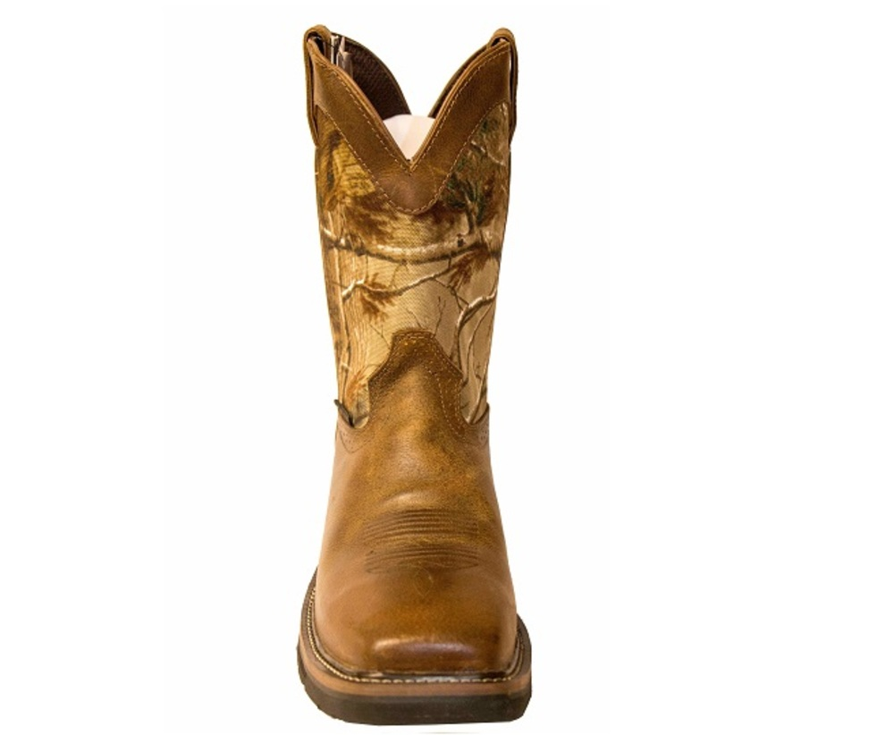 Justin Wk4677 Stampede Waterproof Camo Composite Toe Boots