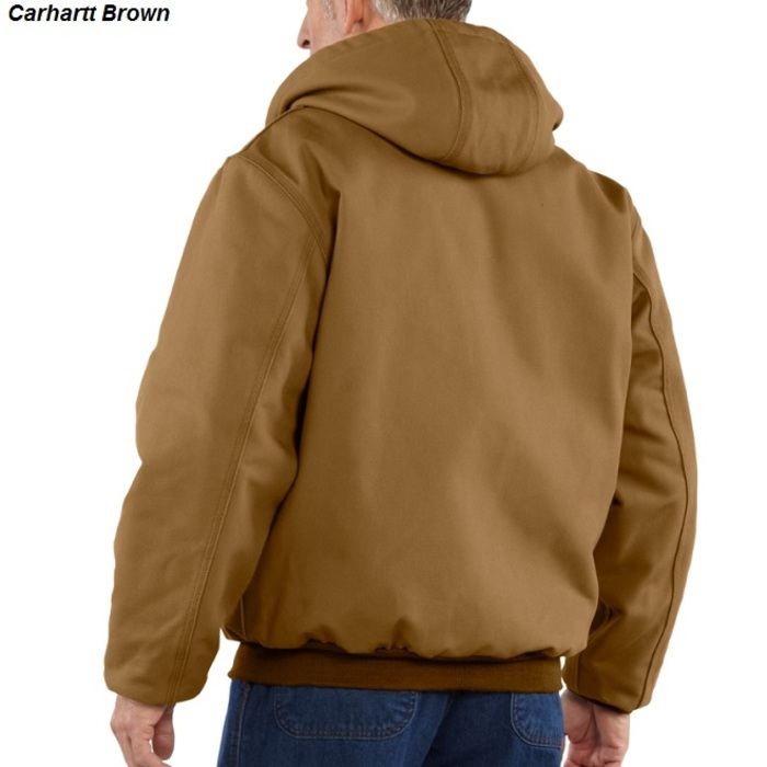 cd7cac0618a4 Carhartt 101621 Flame-Resistant Duck Active Jac Quilt-Lined ...